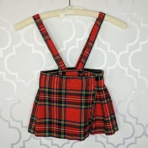 Vtg Children's Boys Girls Kids Tartan Kilt